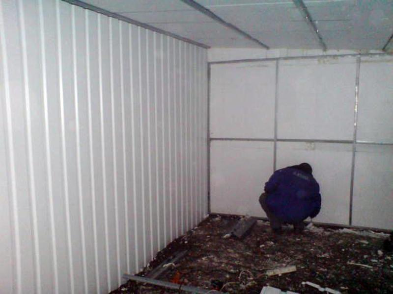 Утепление гаража пенопластом: условия и этапы работ