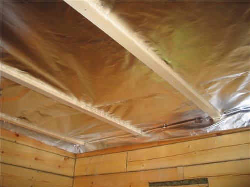 Утепляем потолок
