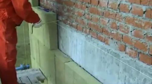 Утепление кирпичных стен снаружи своими руками