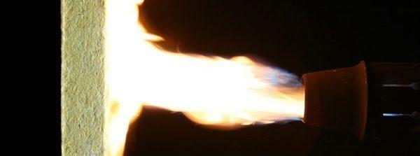 Вата выдерживает нагрев до очень высоких температур.