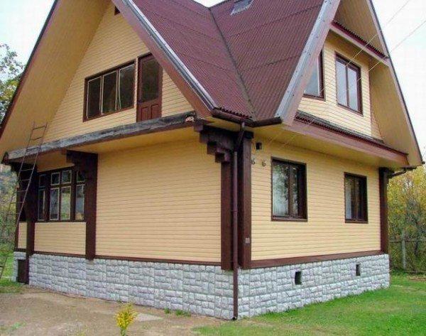 Виниловый сайдинг – аккуратный вид фасада