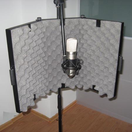 Внешний вид профессиональных панелей для организации звукоизоляции в студиях звукозаписи