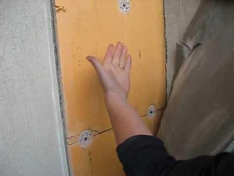 Внутреннее утепление стен квартиры экструзионным пенополистиролом