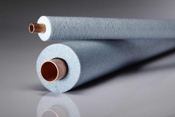 Внутренний диаметр изоляции должен быть такой же, как диаметр внешний трубы.