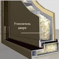 Внутренняя конструкция утепленных дверей