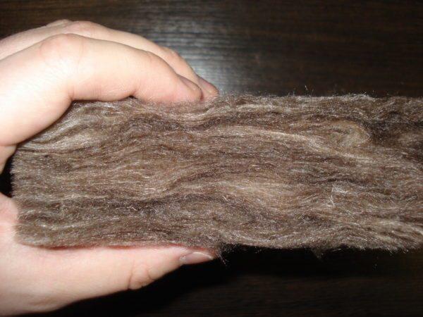 Волокна не вызывают зуд и аллергию.