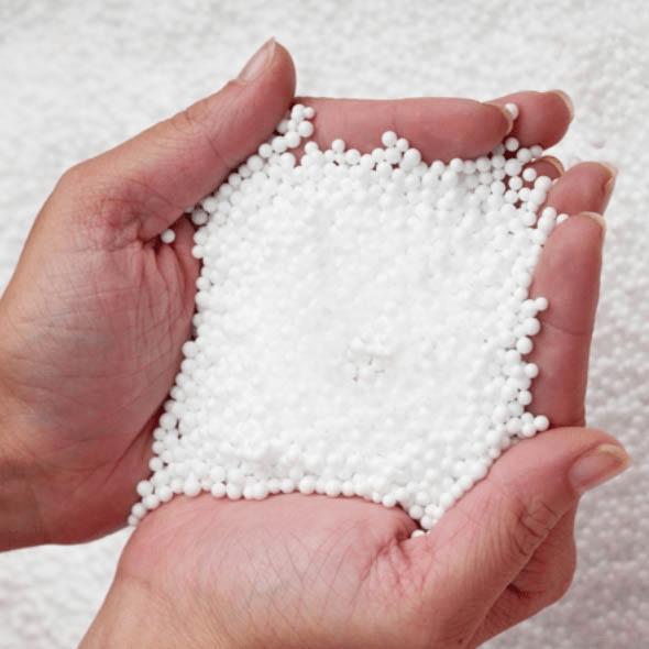 Вот такие гранулы можно использовать, если плиты не подходят
