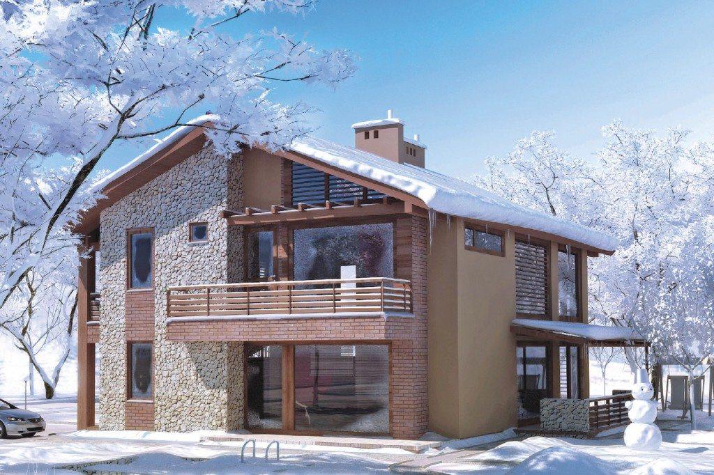 Возможно ли утеплить дом зимой?