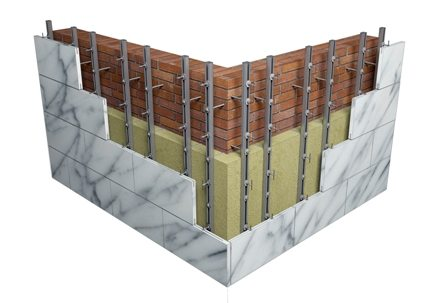 Все плиты серии Venti Batts предназначены для использования в системах «вентилируемый фасад»