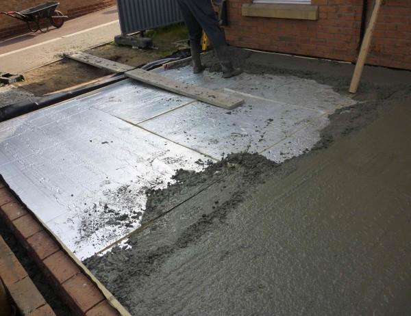 Заливаем бетон